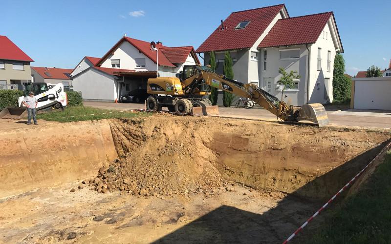 Referenz Firma Sitterbau Tiefbau und Abbruch