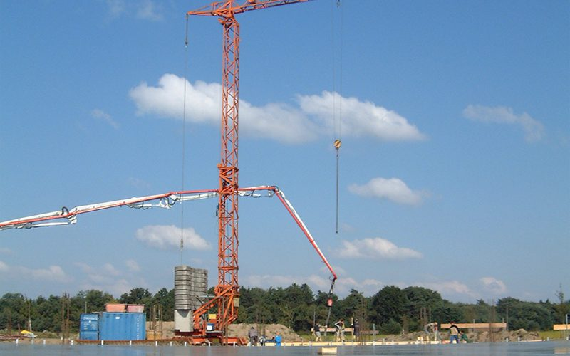 Sitter Bau Fuhrpark Kran