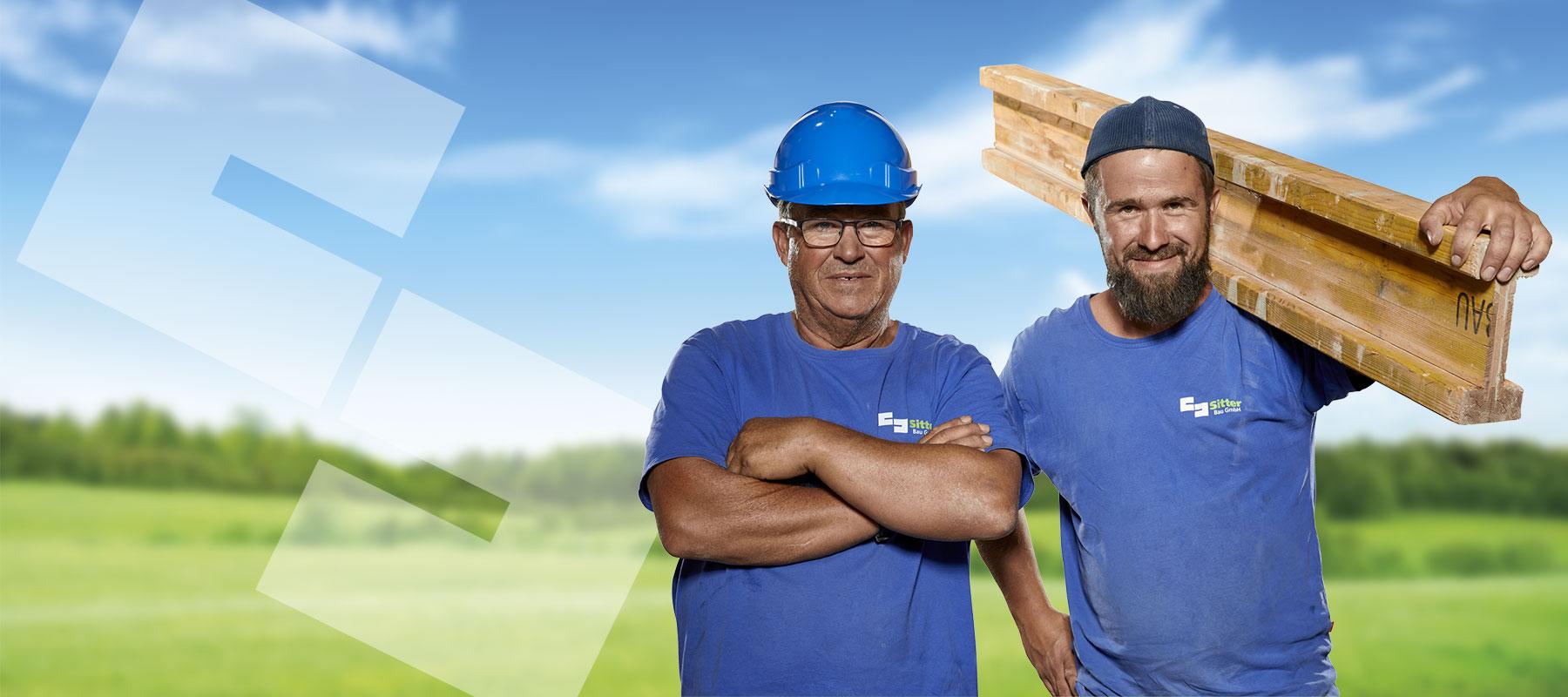 Mitarbeiter Sitter-Bau